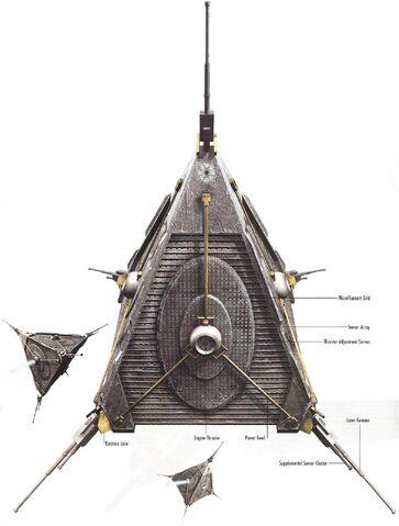 Archivo:Swarm-class battle droid.JPG