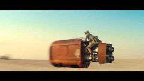 Star Wars El Despertar de la Fuerza Teaser 1 Fanotado Español