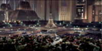 Disturbio en la Plaza de los Monumentos