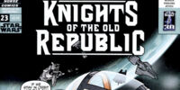 Star Wars: Knights of the Old Republic 23: Knights of Suffering, Part 2