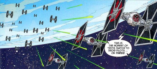 Archivo:Twilight Squadron vs TIEs.jpg