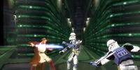 Estación central de Seguridad del Templo Jedi