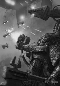 Guardianes de la Muerte Tecnomatine Drones Tau Ordo Xenos Wikihammer