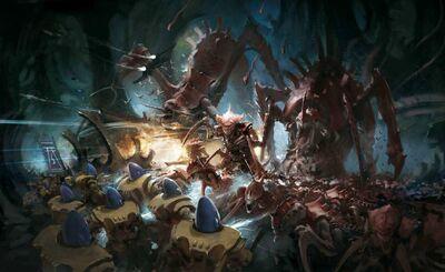 Eldar iyanden vs tiranidos kraken.jpg