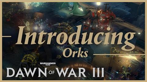 Prophecy of War - Introducing the Orks