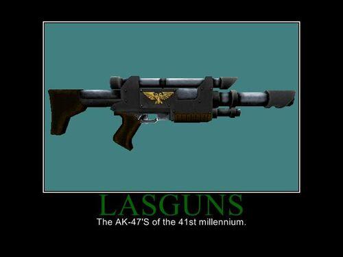 Rifle laser