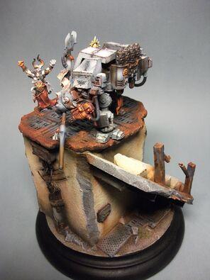Dreadnought Caballeros Grises Golden Demon 2011 3 Warhammer 40k Wikihammer