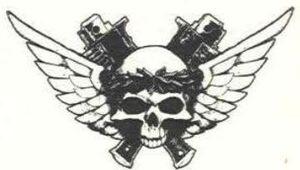 Símbolo del Departamento Munitorum