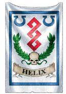 Estandarte Apotecario Jefe Ultramarines Corpus Helix
