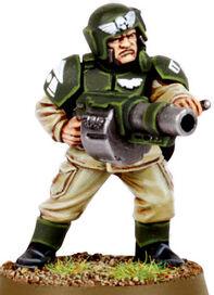 Cadian Grenade Launcher