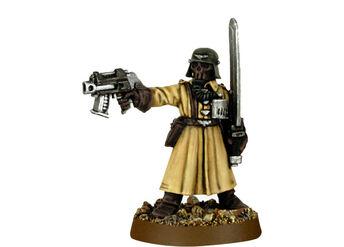 Mini GI legion de acero oficial con espada energia