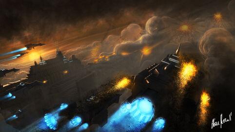 Flota Imperial Batalla Orbital Wikihammer