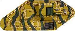Desierto matorrales camuflaje Guardia Imperial