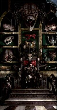 Inquisidor con trofeos