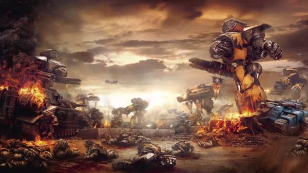 Batalla Guerreros de Hierro Legio Gryphonnicus contra Legión Alfa Legio Fureans.png