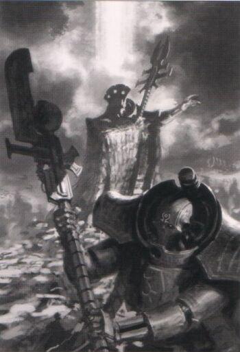 Zandrekh Obyron Lider Supremo Necron Vargard Nemesor Wikihammer.jpg