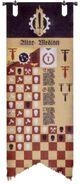 Estandarte de Honor Legio Atarus Marcas de Fuego