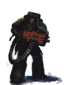 Guardianes de la Muerte Devastador Bolter Pesado Puños Imperiales Ordo Xenos Wikihammer