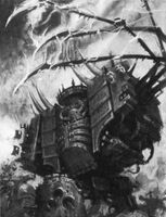 Chaos Dreadnought artwork