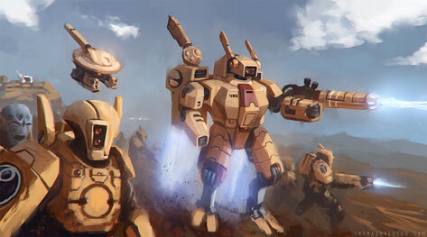 Warhammer 40k tau empire by thomaswievegg-d6smzhq