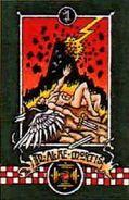 Estandarte de la 1ra Compañia de los Angeles Oscuros (Ala de la Muerte)