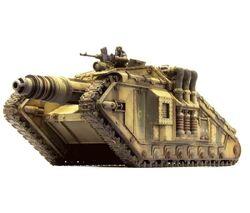 GI tanque Valdor con cañón laser de neutrones