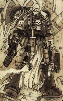 Guardianes de la Muerte Fanart Lethaniel Angeles Oscuros Ordo Xenos Wikihammer