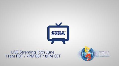 SEGA Central E3 2016 Live!