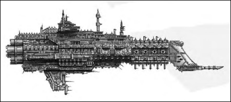 Crucero Clase Lunar Flota Imperial Wikihammer