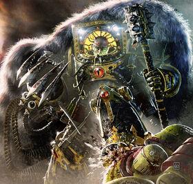 Caos Horus herejia garra combate.jpg