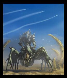 Tyranid dominatrix by jutami-d3x60no
