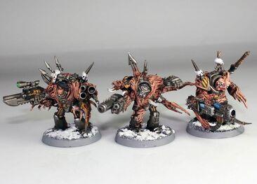 Exterminadores poseidos de los guerreros de hierro