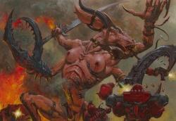 Caos demonio slaanesh guardian de los secretos color.jpg