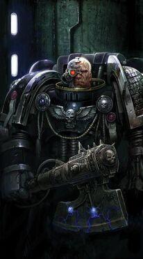 Guardianes de la Muerte Hacha de Energia Ojo Bionico Ordo Xenos Wikihammer