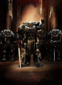 Guardianes de la Muerte Capitan de la Guardia Mordigael Fortaleza de Vigilancia Erioch Ordo Xenos Wikihammer