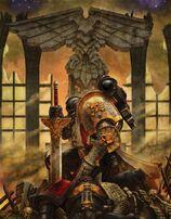 Guardián de la Muerte encomendando un alma