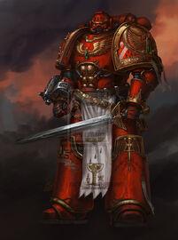 Comandante de los Ángeles Sangrientos