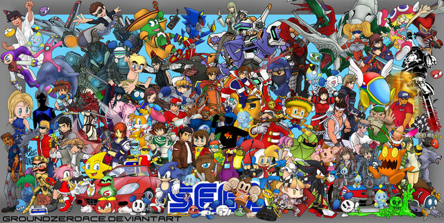 Archivo:Sega all stars reunion by groundzeroace.jpg