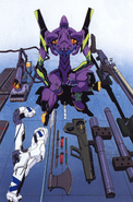 Evangelion Unit-01 and Weapons