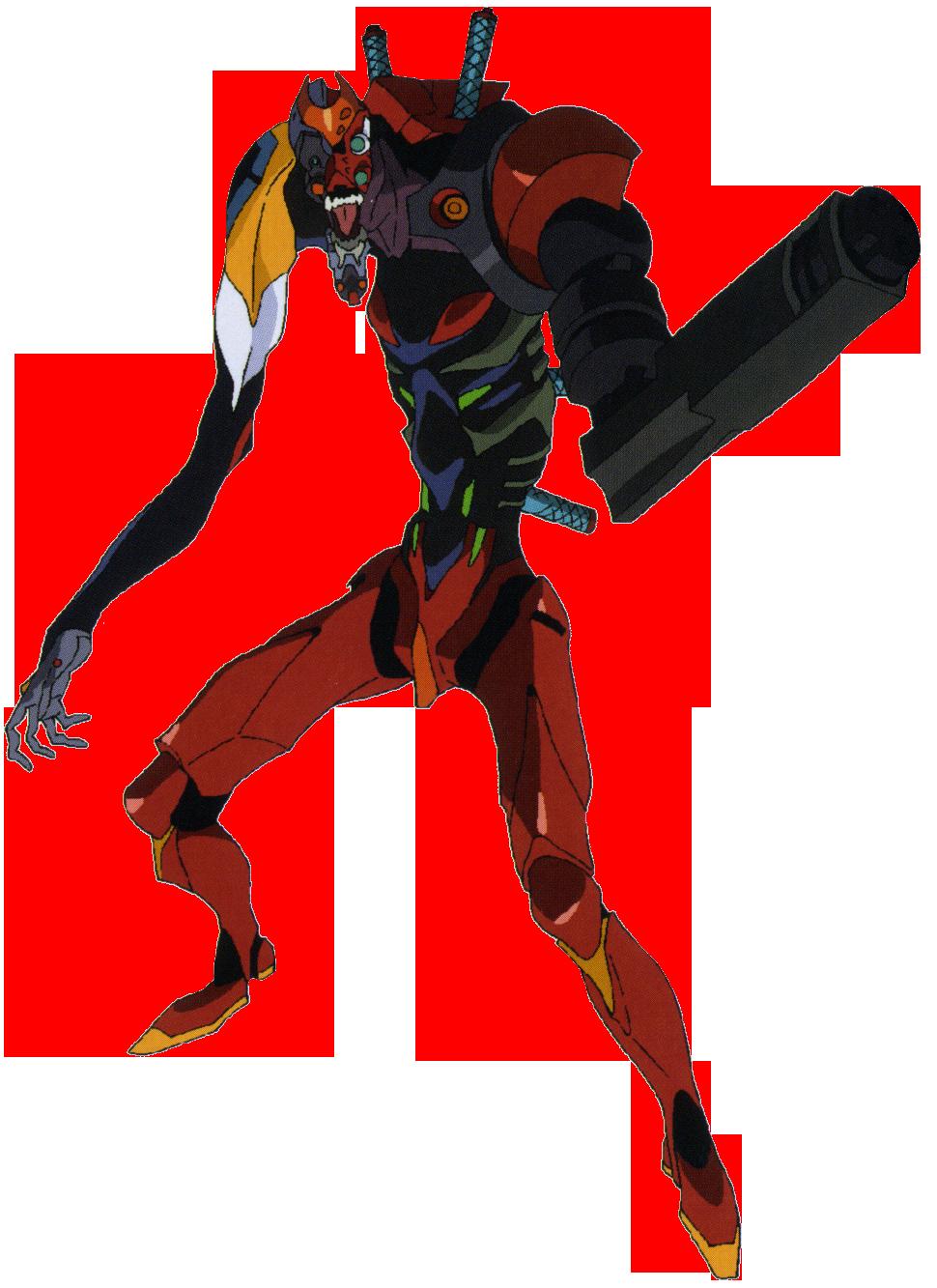 Image - Evangelion Unit-02'γ (Beast Mode - 1st Form).png ...