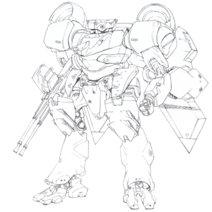 Strategic Defense Force Integrated Mechanic Soldier Type-4 Akashima
