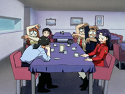 Shocked at Misato's truth (NGE)