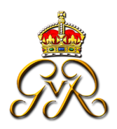 Royal Monogram of King-EmperorGeorge V - Art of Heraldry - Peter Crawford