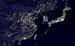 北韓燈光.JPG