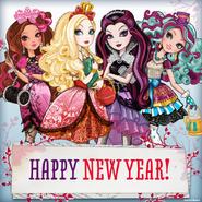 Facebook - happy new year
