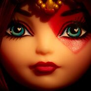 Facebook - Lizzie Hearts' face