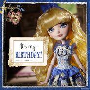 Facebook - Blondie's birthday