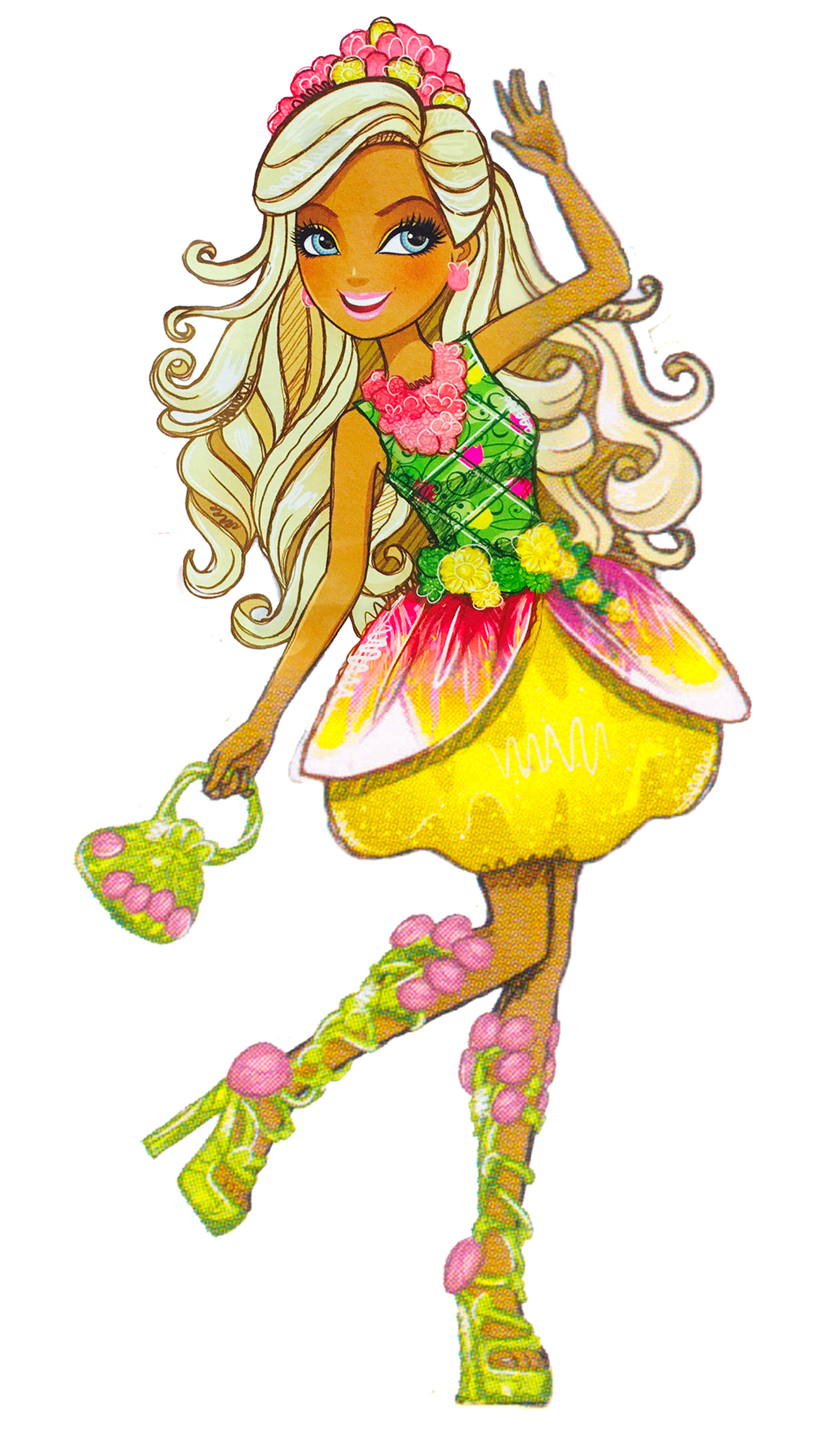 This is a picture of Shocking Ever After High Characters