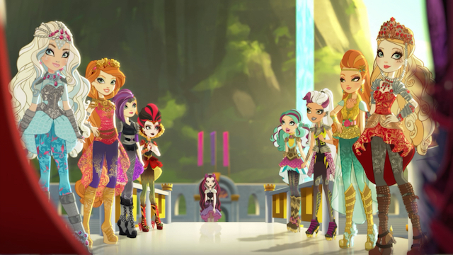 Image - Dragon Games - teams view.jpg | Ever After High Wiki ...