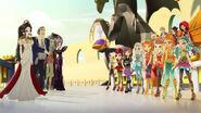 Dragon Games - choosing ceremony